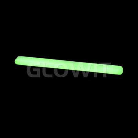 Glowit 10 glowsticks 250mm x 15mm - Green