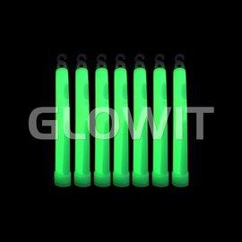 GLOWIT 25 Bâtons lumineux 150mm Vert