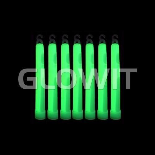 Glowit 25 Bâtons lumineux - 150mm x 15mm - Vert