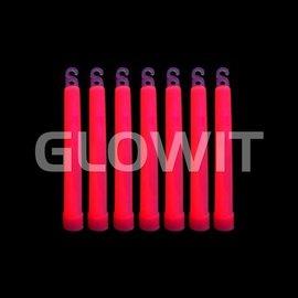 GLOWIT 25 Glowsticks 150mm Rood