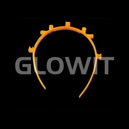 Glowit 25 Serre-têtes pour oreilles mickey lumineuses