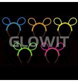 Glowit 25 Bunny Mickey diadeem connectors (Zonder sticks)