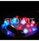 Glowit Glaçon LED - 30mm x 30mm x 30mm - multi couleurs