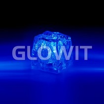 Led ijsblokjes Blauw