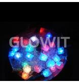 Glowit Glaçon LED - 30mm x 30mm x 30mm - bleu