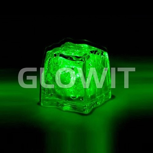 Glowit Led ice cube - 30mm x 30mm x 30mm - Green