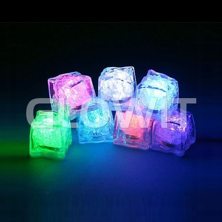 Glowit Led ice cube - 30mm x 30mm x 30mm - Red