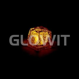 GLOWIT Led ijsblokjes Geel