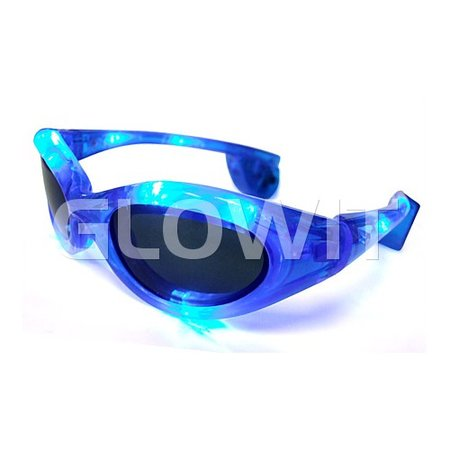Glowit lunettes de soleil LED - bleu