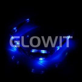 GLOWIT Led zonnebril Blauw
