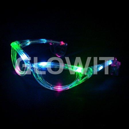 Glowit Led zonnebril - Multi