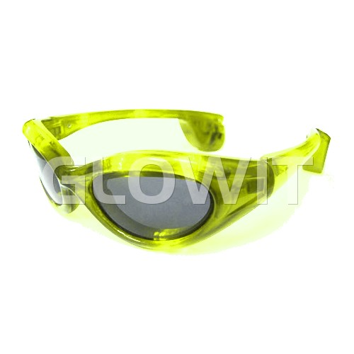 Glowit Led sunglasses - Yellow