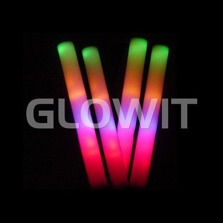 Glowit Led foam stick - 400mm x 40mm