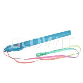 GLOWIT Flashing poi party stick Blauw