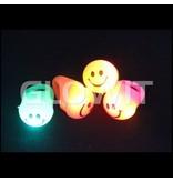 Glowit Bague Led clignotant Smiley