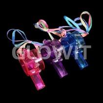Flashing LED wistle