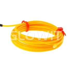 GLOWIT EL wire 2m (On batteries) Yellow