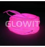 Glowit Fil EL - 10m x 3.2mm - Rose