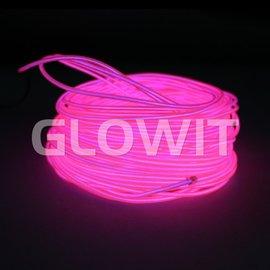 Glowit EL draad 10m Roze