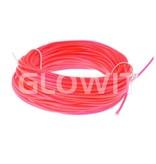 Glowit EL draad - 20m x 3.2mm - Roze