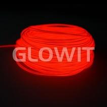 Fil EL 10m rouge
