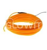 Glowit EL draad - 10m x 3.2mm - Geel