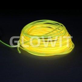 Glowit EL draad 10m Geel