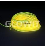 Glowit Fil EL - 20m x 3.2mm - Jaune