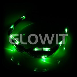 GLOWIT LED zonnebril Groen