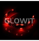 Glowit Led sunglasses - Red