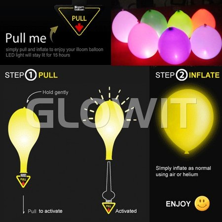Glowit 10 Lampes allume ballon LED