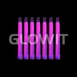 Glowit 25 Glowsticks 150mm Paars