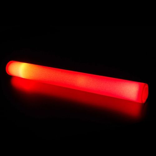 Glowit Barre mousse / foam stick - 400mm x 40mm - Rouge