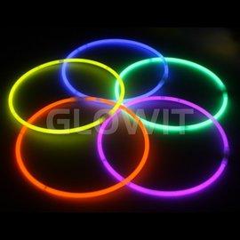 GLOWIT 300 Lichtgevende halskettingen 580mm Mix