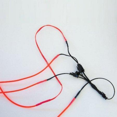 Glowit Splitter voor Electroluminesence (EL) draad - 5-Weg