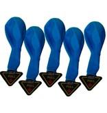 5 Blue LED Balloon Lights