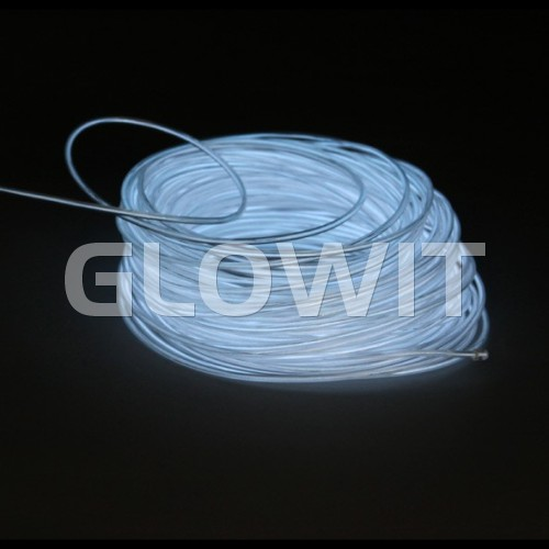 Glowit EL wire - 5m x 3.2mm - White
