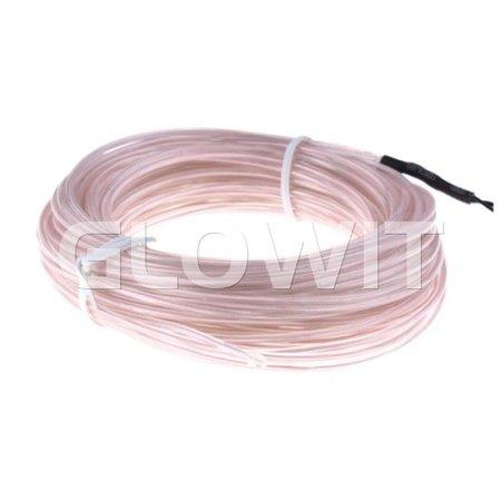 Glowit EL draad - 5m x 3.2mm - Wit