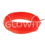 Glowit EL wire - 5m x 3.2mm - Red