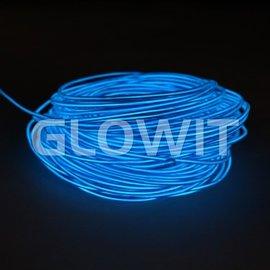 GLOWIT EL draad 5m Blauw