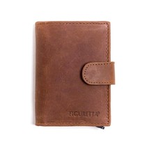 Cardprotector leer - Hunter brown