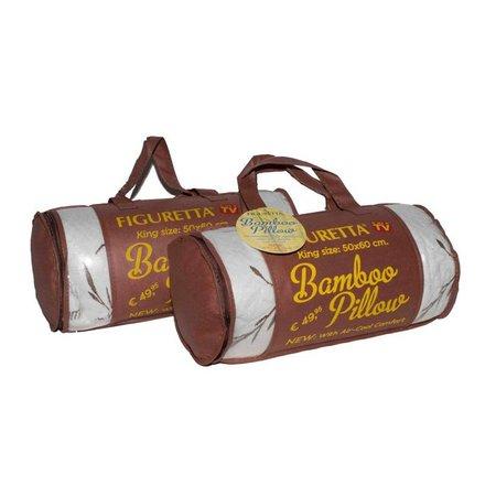 Figuretta Bamboo pillow anti allergie 50cm on 60cm
