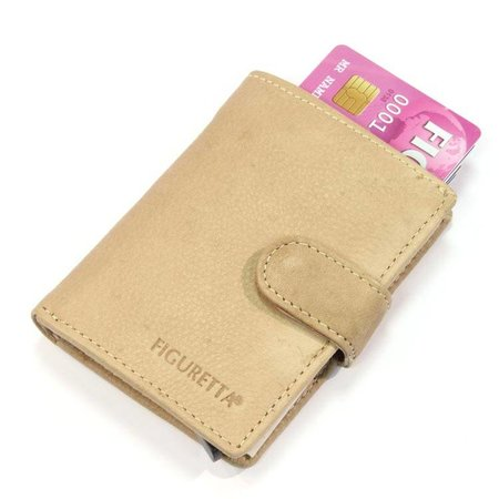 Figuretta Cardprotector leather - Liver