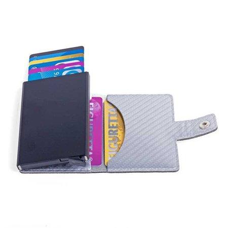 Figuretta Cardprotector Carbon Look - Silver