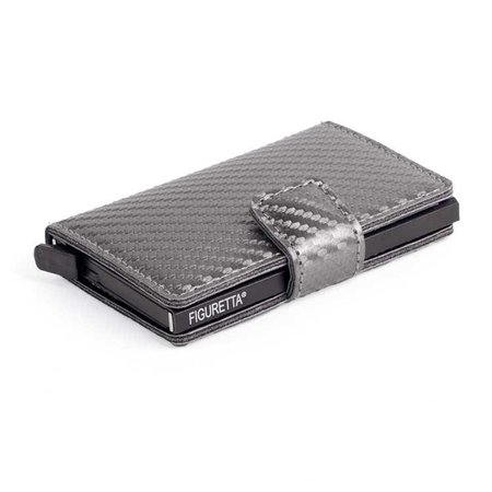 Figuretta Cardprotector Carbon look- Antraciet