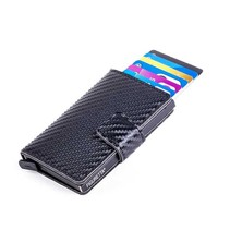 Cardprotector Carbon look - Zwart