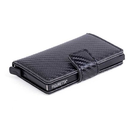 Figuretta Cardprotector Carbon Look - Black