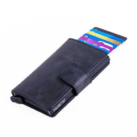 Figuretta Cardprotector PU leather - Anthracite