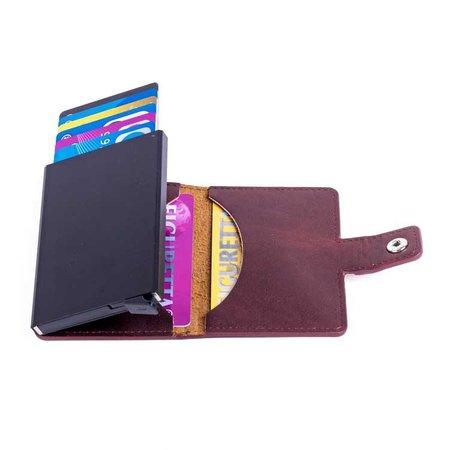 Figuretta Cardprotector PU leather - Bordeaux