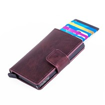 Cardprotector PU leather - Bordeaux